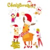 The Latest Christmas kids room wall stickers,kids wall decoration
