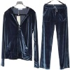 ladies 100% polyester velour jogging sets