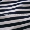 single jersey yarn dyed knitted fabric