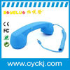 newest wire pop retro headset for mobile phone