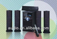 5.1 subwoofer karaoke speaker with USB SD FM Remote Karaoke VFD