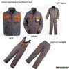 HOMMES VETEMENTS DE TRAVAIL , MENS WORK UNIFORME( VEST,JACKET, PANTS,COVERALL)