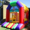 Inflatable children simple bouncy castle