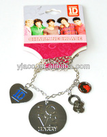 one direction HARRY charm necklaces