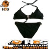 Ladies O Ring Bikinis with Neck Tie HSB110421