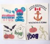 Cartoon Epoxy Sticker