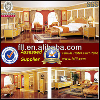 FoShan luxury hotel room set furniture for 5 star hotel