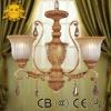 3-Light Chandelier Wedding Decoration
