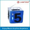 Mini Speaker RX-I5 support iphone, nokia, blackbarry, MP3,MP4,laptop,PSP,PC,Micro SD card