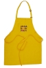 bib aprons with customs logo in embroidery or print or others