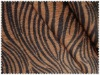 Newest 100% polyester zebra printed fleece fabric