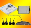 car LED display parking sensor system car parking system