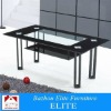 High-gloss wooden & glass Coffee Table EYC1008-14
