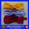 Satin Yellow Bow Ties in Stock