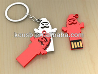 Metal christmas gift usb