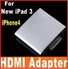 HDMI 1080P to TV Adapter Dock For Apple New iPad 3 iPad 2 iPhone4 iPod touch 4