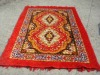 stitching carpet with onwoven fabric backing