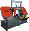 SINAIDA Brand 400mm Semi-auto Band Saw Machine For Metal Cutting