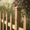 Outdoor Wood Composite Palstic Fence