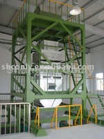 Chemical fiber packaging machine