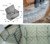 galfan galvanized welded Hexagonal Gabion Mesh (manufacturer)