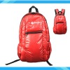 Hight Quality Red Soft Shirly PU Fashion Back pack