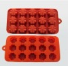 silicone cup cake pan mould baking tin pan tray