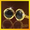 wholesale novelty onyx cufflinks accessory