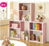 wooden free combination wooden Children bookcase