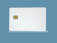 Blank pvc smart card with 256bit chip