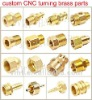 brass fitting presicion CNC turning brass part