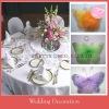 Silk butterfly wedding decoration