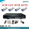Special offer 4CH DVR kits(D2104ICG23N)