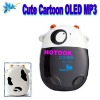 Cartoon Cute Little Cow MP3 Player with Digital LCD Indicaton Screen and Good Design