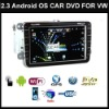 8 inch Car DVD Player Radio Stereo Android GPS For VW Golf Touran Jetta EOS Caddy Polo