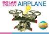 3D solar powered aircraft
