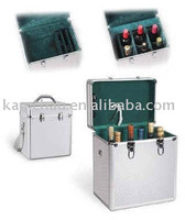 Aluminum wine box