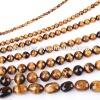 Natural tiger eye beads