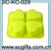 silicone bakeware round shape cake mold