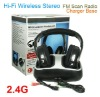 New Stylish Hi-Fi Stereo 2.4G Wireless Headphones SF-886 With FM Radio