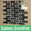 Glass Wave Mosaic Tile,Silver Mirror Mosaic Tile,Mirror Glass