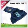 embroidery jacquard Golf towel