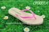 Disposable shower flip flop slipper for women