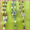 real cultured freshwater pearl necklace