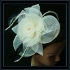 New arrival wedding decorative mesh flowers for hair and dresses