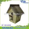 shabby chic wooden birdhouse