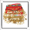 Wholesale! Belly Dance Hip Scarf Red