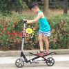 Space scooter which Moves by feet and suitable for the people between 6 to 60 years old