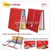 Customized sticky note/memo pad/notepad/stationery with colorful strips