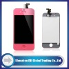 for iphone 4s color screen digitzer assembly + colored digitizer assembly PINK + oem +shenzhen